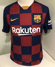 Nike Barcelona FC Football Lionel Messi Jersey Mens Medium 2018/19 In Vgc