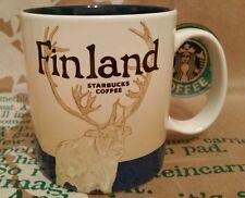 Starbucks Coffee Mug/Tasse/Becher FINLAND/Finnland,Global Icon,NEU mit Sticker!!