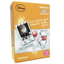 NEW BOXED FUJI INSTAX MINI FILM 1 PACK (10PCS ) / NEW WINNIE THE POOH  4 8 25 90
