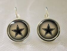 Dallas Cowboys Earrings made from Football Trading Cards Great for Game Day