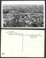 Old Algeria Postcard - Oran - Real Photo, Aerial View