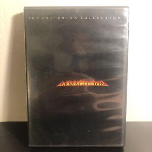 Armageddon (DVD, 1999, Criterion Collection)