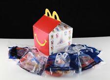 2021 McDonalds Disney's 50th Anniversary Disney World Individual Happy Meal Toys