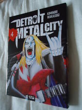 // NEUF DETROIT METAL CITY Tome 4 DMC MANGA EO VF DEATH KISS ROCK POP MUSIQUE