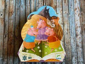 DJECO - Die drei kleinen Schweinchen - Puzzle - 24 Teile ab 3 Jahren...so schön!