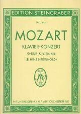 Mozart : Klavier-Konzert, G-Dur, K.-V. Nr. 453, unt. 2.Klavier, Orchesterpart