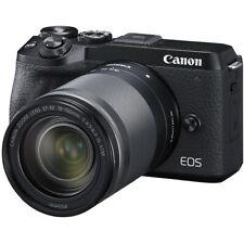 Canon EOS M6 Mark II Mirrorless Digital Camera w/ 18-150mm Lens (Black) 3611C02