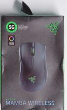Razer Mamba Wireless Gaming Mouse: 16,000 DPI Optical Sensor Chroma RGB Lighting