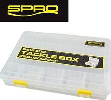 Spro Tackle Box 25x18x4cm - Angelbox, Kunstköderbox, Köderbox, Tacklebox