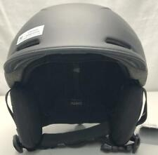 Smith Camber Adult Snowboard Snow Ski Helmet Medium 55-59cm Matte Black NEW