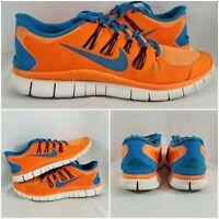 Nike Free Run 5.0 Total Orange' 579959-470 Mens Orange Running Shoes Size 11