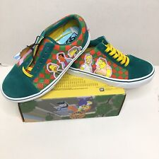 Vans The Simpsons Old Skool Moe's Tavern Checkerboard Shoes Size Womens 6.0