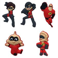 50PCS The Incredibles Shoe Charms Shoes Accessories  fit in Shoes Kids Gifts