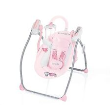 Baby Girls Rocker Hello Kitty Swing With Remote Control Sweet Heart Pink **NEW**