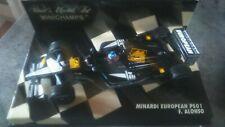fernando alonso    minardi ps01  minichamps