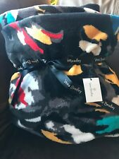Vera Bradley Throw Blanket Splash Floral New With Tags, Retired 80�x 50� Rare