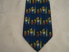 The Simpsons family blue tie, exc condition