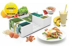 MealKitt Portion Control Container Meal Prep Sizes Calories Counter Recipe Books