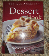 The All-American Dessert Book by Nancy Baggett 2005 Hardcover VG Cooking Recipes