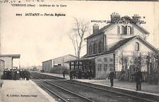 CPA 60 VERBERIE INTERIEUR DE LA GARE (erreur de frappe avec Modane dans la Savoi