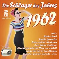DIE SCHLAGER DES JAHRES 1962 (NEW EDITION)  2 CD NEU