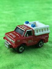 Micro Machines Vehicle Auto Car SFPD Rescue Truck San Francisco Fire Department