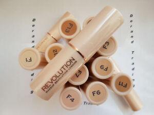 Makeup Revolution Fast Base Stick Foundation Genuine 18 Shades NEW SEALED