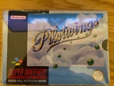 Nintendo Snes Game Pilotwings Boxed With box protector