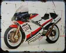 Honda Nr750 87 1 A4 Metal Sign Motorbike Vintage Aged