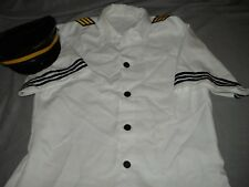 Halloween Captain Fetish Air Costume Shirt & Hat - Leg Avenue - Male X Large