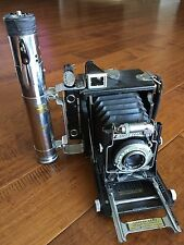 Graflex Pacemaker Speed Graphic Camera 101mm f/4.5 Ektar And Flash