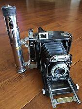 Graflex Pacemaker Speed Graphic Camera 101mm f/4.5 Ektar And Flash