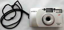 Minolta 35 mm film camera Zoom 60 point and shoot 35-60 mm zoom