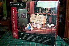 DEPT 56 LITTLE WOMEN MARCH RESIDENCE #56606 NEW ENGLAND VILLAGE / RETIRED NIB