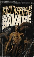 *DOC SAVAGE #45: THE MEN WHO SMILED NO MORE  by Kenneth Robeson -1stPB Printing