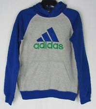 adidas Blue Gray Sweatshirts & Hoodies (Sizes 4 & Up) for
