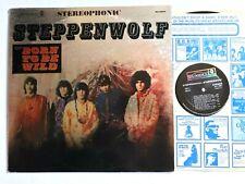 STEPPENWOLF 1968  Hard Psych Rock Vinyl LP (Born To Be Wild ) DS-50029 VG+/VG