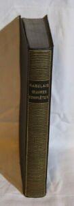 La pleiade - Rabelais -Oeuvres complètes- 1941
