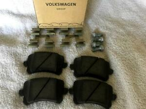 NEW Audi OEM Factory Q3 A6 Rear Brake Pad Set 3AA698451 SHIPS TODAY