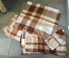 TCM Tchibo Bettwäsche 2 Garnituren 155 x 220 & 135 x 200 cm - braun / beige
