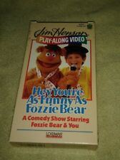 Jim Henson Play-Along Video Hey, You're As Funny As Fozzie Bear Muppets VHS HTF