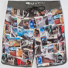 Matix Skateboarder Boardshort (28) White