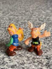 Ü-ei Figuren Asterix + Troubadix original 70er Jahre