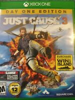 Just Cause 3: Day One Edition (Microsoft Xbox One, 2015)
