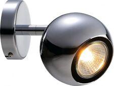 SLV LIGHT EYE 1 GU10 Wand- und Deckenleuchte, chrom, GU10, max. 50W