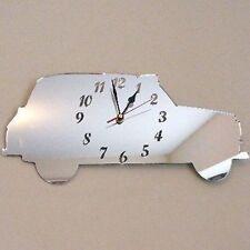 Taxi Mirrored Clock