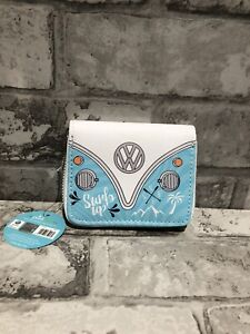 Volkswagen VW Campervan Wallet Purse -  Blue official licensed gift new with tag