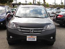 Colgan Front End Mask Bra 2pc. Fits Honda CRV LX,EX & EX-L 2012-2014 w/License