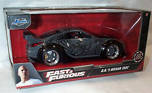 FAST & FURIOUS D.K.S Nissan 350Z 1/24 SCALE DIECAST OPENING Parts 97172 RB
