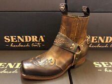 Sendra Boots Cowboystiefel Westernstiefel  Motorradstiefel 7811 Braun